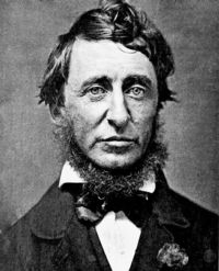 prose writing Henry David Thoreau